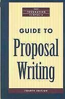 The Foundation Center's Guide to Proposal Writing Geever, Jane C. Hardcover