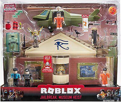 roblox toys jailbreak museum heist