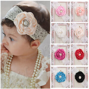 Kids-Baby-Girl-Toddler-Cute-Lace-Pearl-Flower-Headband-Hair-Band-Headwear-HOT