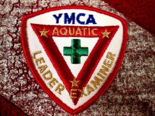 Plongée sous-marine Neuf YMCA Scuba chef examinateur patch rare et difficile à trouver!