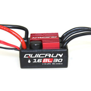 Hobbywing-QUICRUN-WP16BL30-Speed-Controller-30A-BEC-Brushless-ESC-for-RC-Car