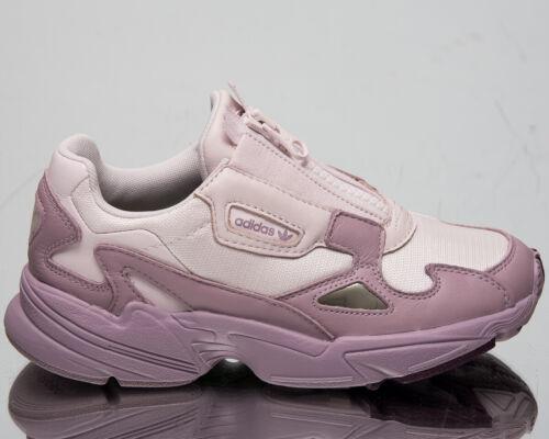 Adidas Original Falcon Reißverschluss Damen Orchidee Freizeit Lifestyle