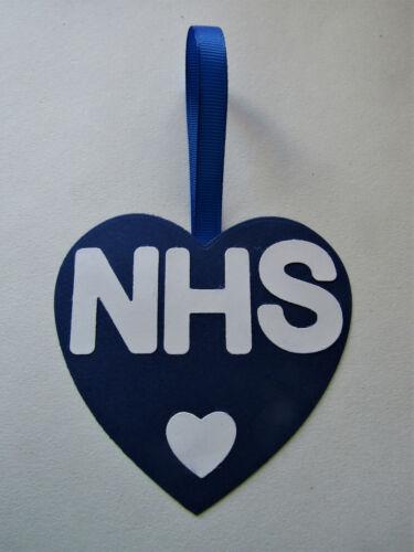 NHS Décoration de fenêtre à suspendre-montrez votre amour
