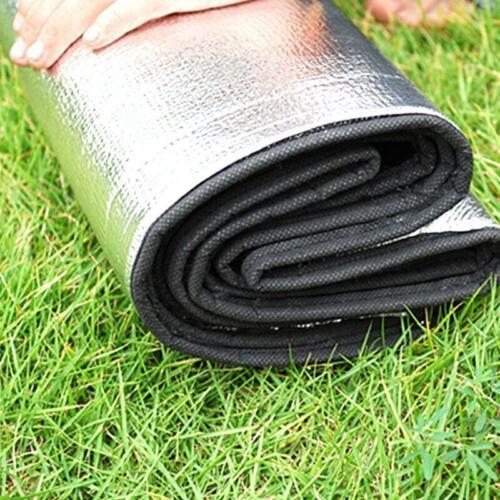 Doppelseitige Aluminiumfolie Schlafmatratze Mat Pad Pad Outdoor Camping Picknick