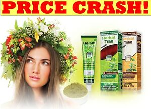 100-NATURAL-HERBAL-TIME-HENNA-CREAM-HAIR-COLOUR-DYE-BIO-HAIR-CARE-75-ML