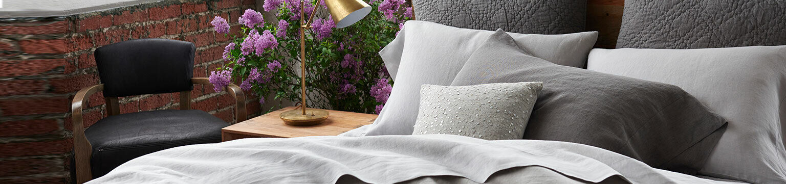 Up to 50% off bedding.