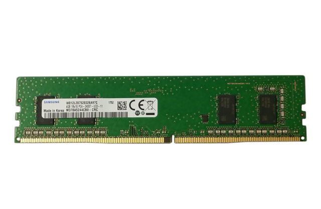 SAMSUNG 4GB DDR4 PC4-19200 2400MHZ, 288 PIN DIMM, 1.2V, CL 17 Desktop RAM MEMORY