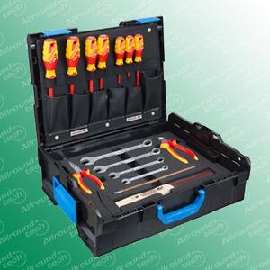 Gedore-Bosch-L-Boxx-Gr-2-136-mit-Werkzeug-Sortiment-BASIC-16-teilig-Neu