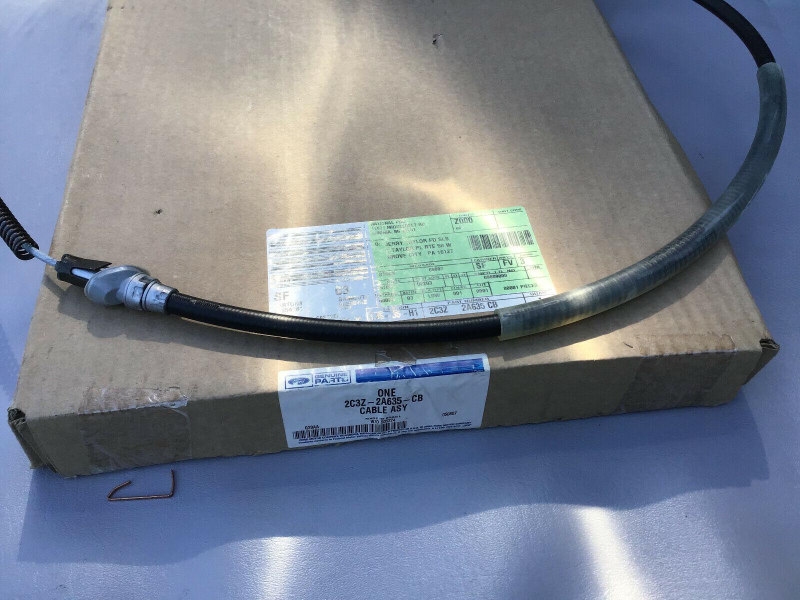 1 Pack Motorcraft BRCA-234 Parking Brake Cable