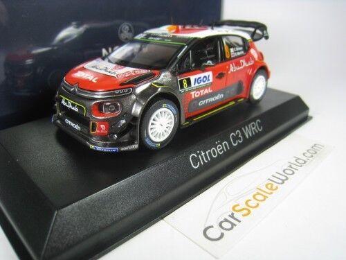 CITROEN C3 WRC TOUR DE CORSE 2017 BREEN BREEN BREEN 1 43 NOREV 4bbf7d