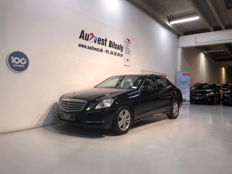 Mercedes E200 2,2 CDi Avantgarde aut. BE 4d - 99.999 kr.