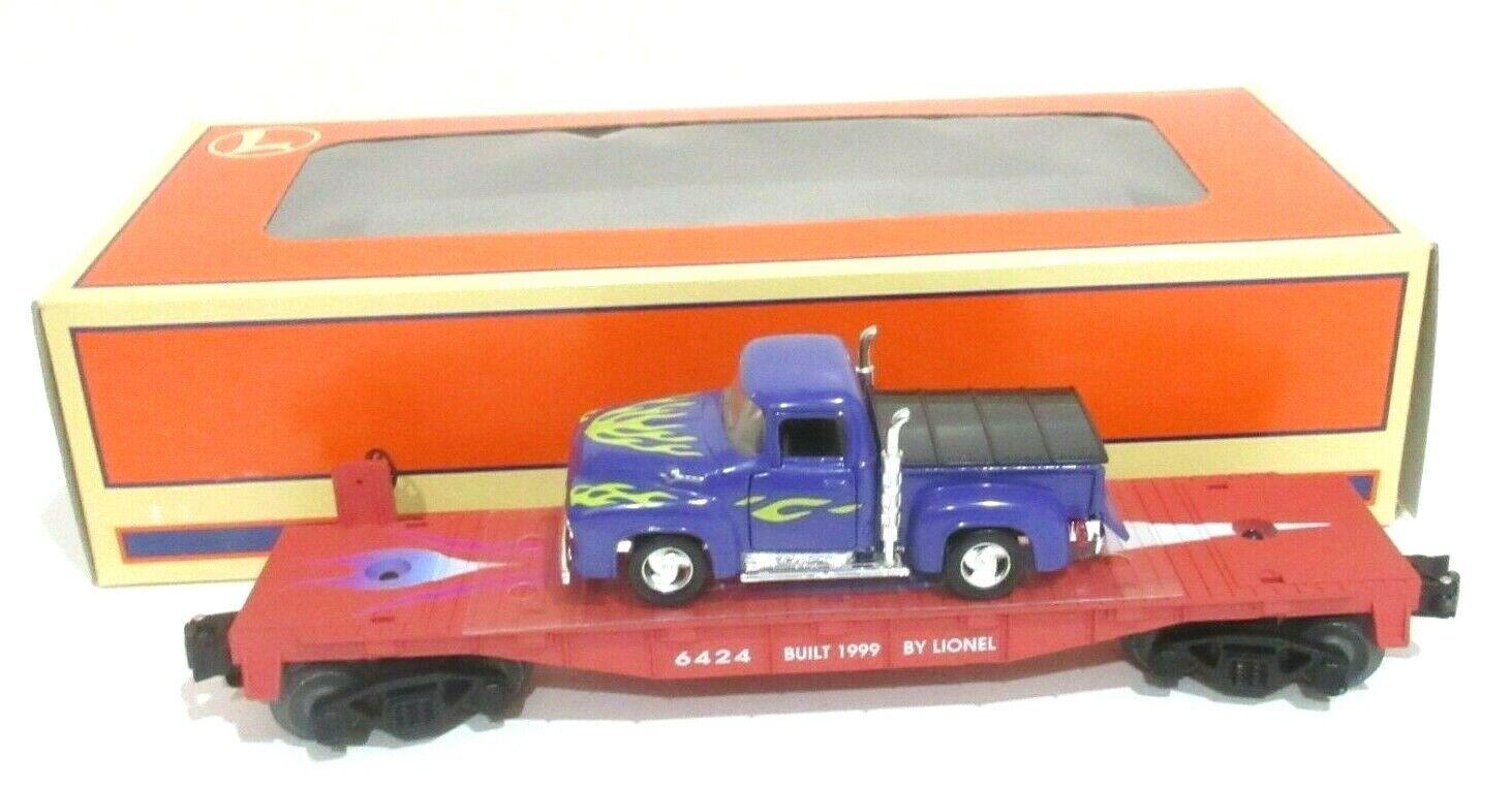 Lionel i treni o scale 6424 piatto auto con FORD PICK UP  636045 NUOVO