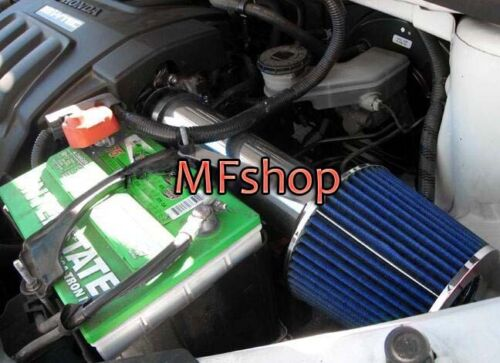 Black Blue For 2007-2013 Acura MDX 3.5L V6 Air Intake System Kit Filter