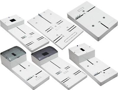 Zählertafel Zählerbrett für Wechselstromzähler 1-9 Module mit Deckel