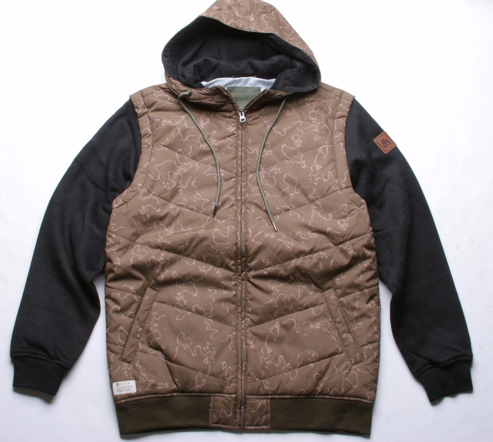 Matix Max Chevron Fleece (L) Army Camo