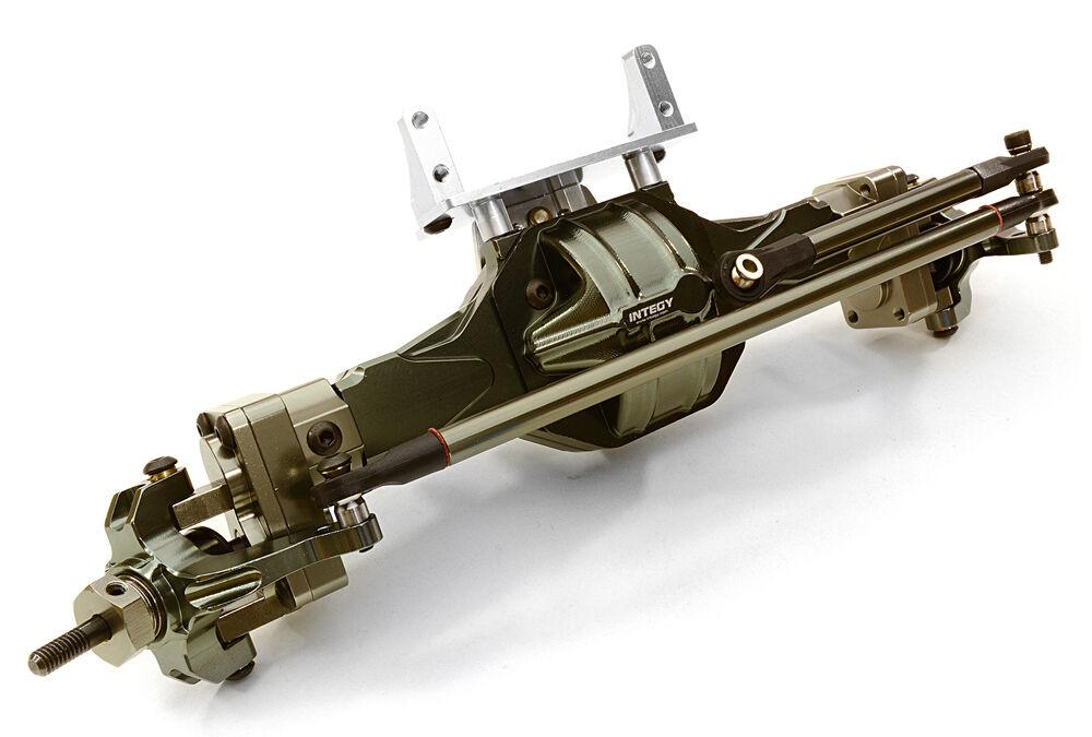 C26155GUN Completo T5 Hi-lift Caja De Cambios Eje F para SCX-10, Dingo, Honcho & Jeep
