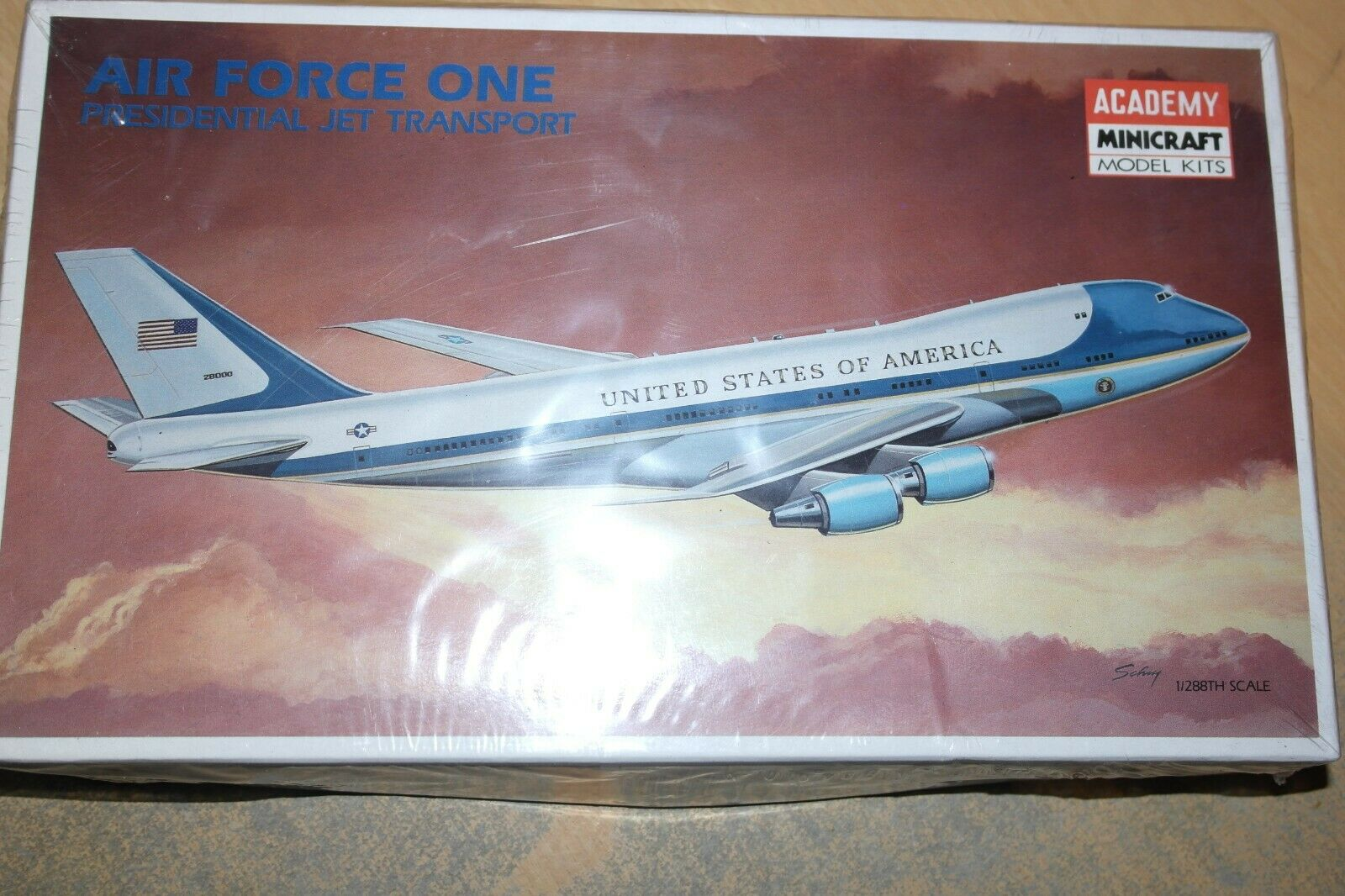ACADEMY 1 288 BOEING 747 AIR FORCE ONE 2104