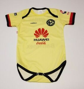 c61a53d5a Club America baby soccer jersey futbol mexico liga mx pañalero bebe ...