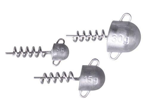 Savage Gear Cork Screw Heads 3-30g