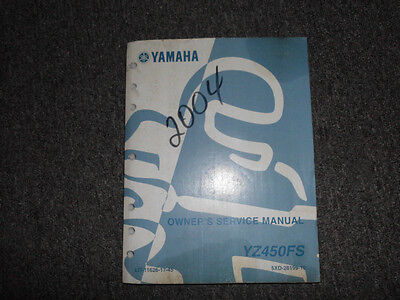 2006 Yamaha YZ450FV Owners Service Repair Shop Manual FACTORY OEM BOOK 06 DEAL