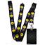 Black-CHECKERS-Standard-size-ID-card-badge-and-lanyard-neck-strap-holder-SPIRIUS thumbnail 94