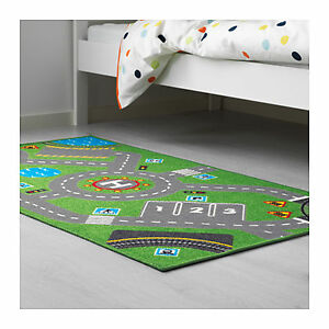 Kids room traffic city adventure play game mat carpet floor image is loading kids room traffic city adventure play game mat gumiabroncs