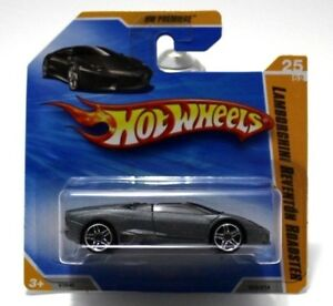 Hot Wheels Lamborghini Reventon Roadster Grey Hw Premiere V3940 025