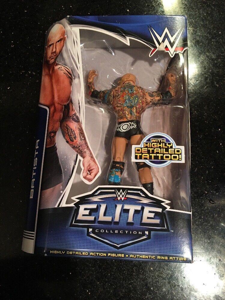 WWE BATISTA ELITE COLLECTION SERIES 30  Brand New Factory Sealed Mattel