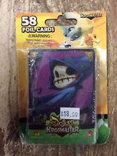 Dofus Krosmaster Arena 58 Foil Cards Complete Set Ankama Sealed