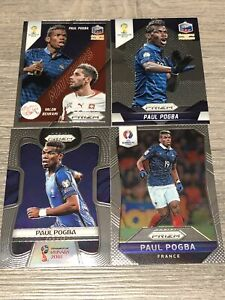 Paul Pogba France Panini Prizm Set World Cup Euro Matchups 2014 16 18 Card Set 4