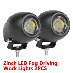 2x 260W 5inch CREE LED Work Lights Bar Spot Light Offroad Vehicle Truck Car Lamp