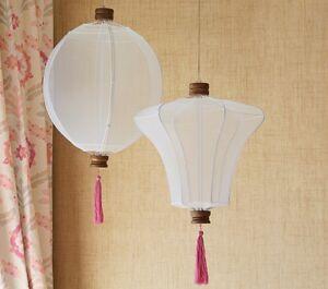 Awesome Image Is Loading Pottery Barn Kids Hanging Lantern Light Set Pink