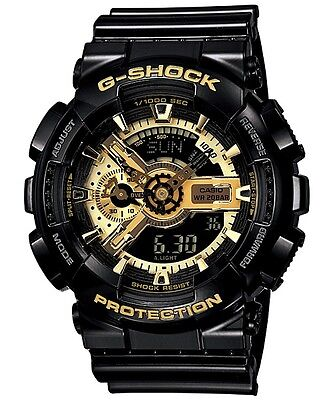 Casio G-Shock GA-110GB-1A Mechanical Look Analog Digital Watch