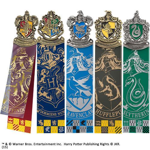 Harry Potter Crest Bookmark Set 5 pcs NOBLE COLLECTIONS