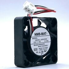 Brand For NMB 1604KL-04W-B49 4010 40mm DC 12V 0.1A dual ball bearing axial cooling fan