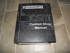 kenworth w900 service manual free owners manual u2022 rh wordworksbysea com Kenworth T800 Wiring Diagram Symbols Kenworth T800 Truck Electrical Wiring