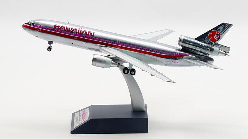 1 200 28CM Inflight HAWAIIAN DC-10-10 Passenger Airplane Diecast Aircraft Aircraft Aircraft Model a40749