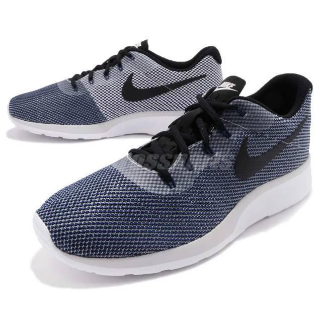 Nike Tanjun Racer Mens 921669-005 Vast Grey Knit Mesh Running Shoes Size 9