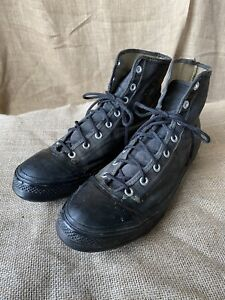 VTG 1950s Converse Chuck Taylor Cleats Football Shoes Sneakers High Tops 11.5