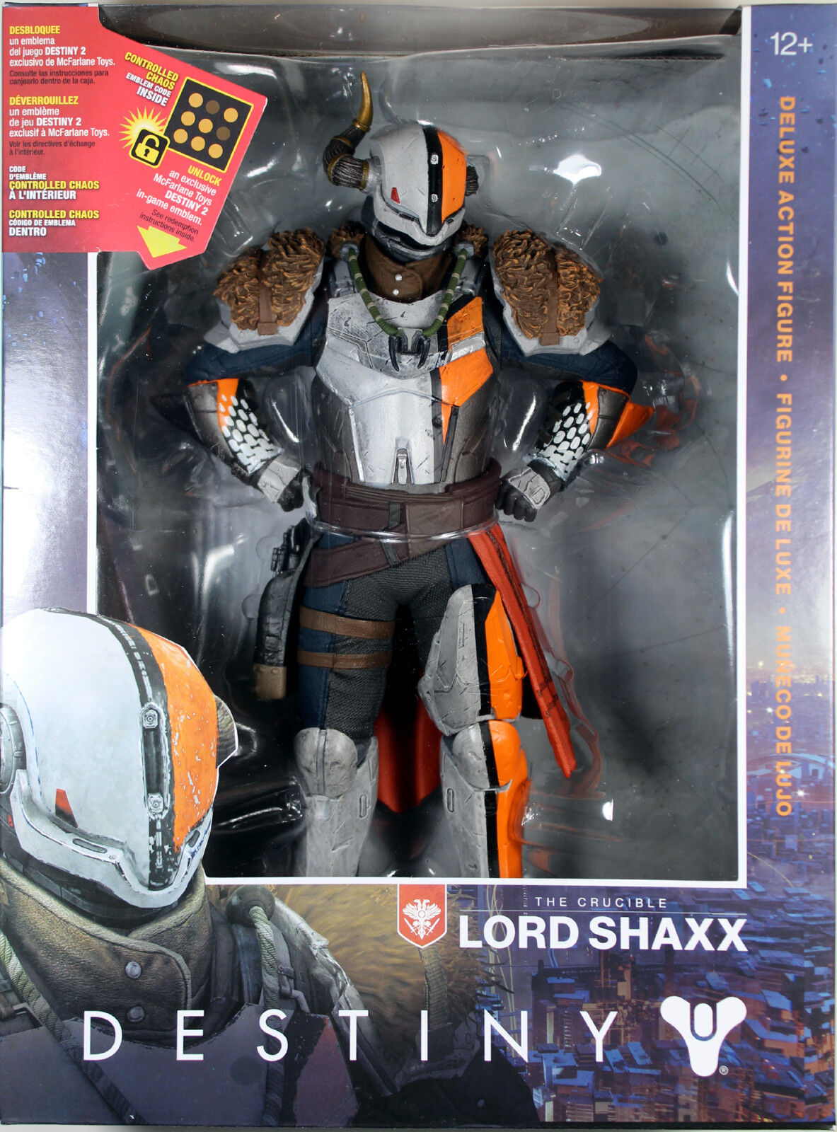 Destiny  10-INCH LORD SHAXX ACTION FIGURE  McFarlane Toys / Bungie