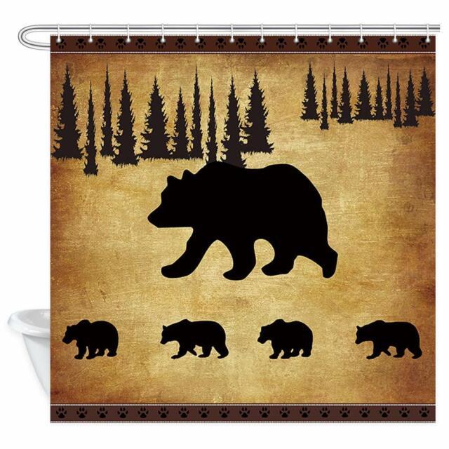 Wildlife Shower Curtain Deer Bathroom
