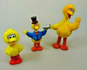 Sesamstrasse-3-x-Bibo-Sammelfiguren-Muppets
