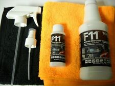 F11 TopCoat Master-Craftsman Polish & Sealer-16 oz & 2oz-(6) Microfiber towels