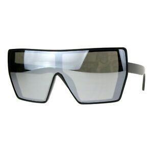 Extra-Oversized-Fashion-Sunglasses-Flat-Top-Shield-Frame-Mirror-Lens