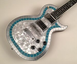 Zemaitis-Custom-Shop-1-of-1-CS24PF-MTP-Metal-Turquoise-Pearl-Top-with-OHSC