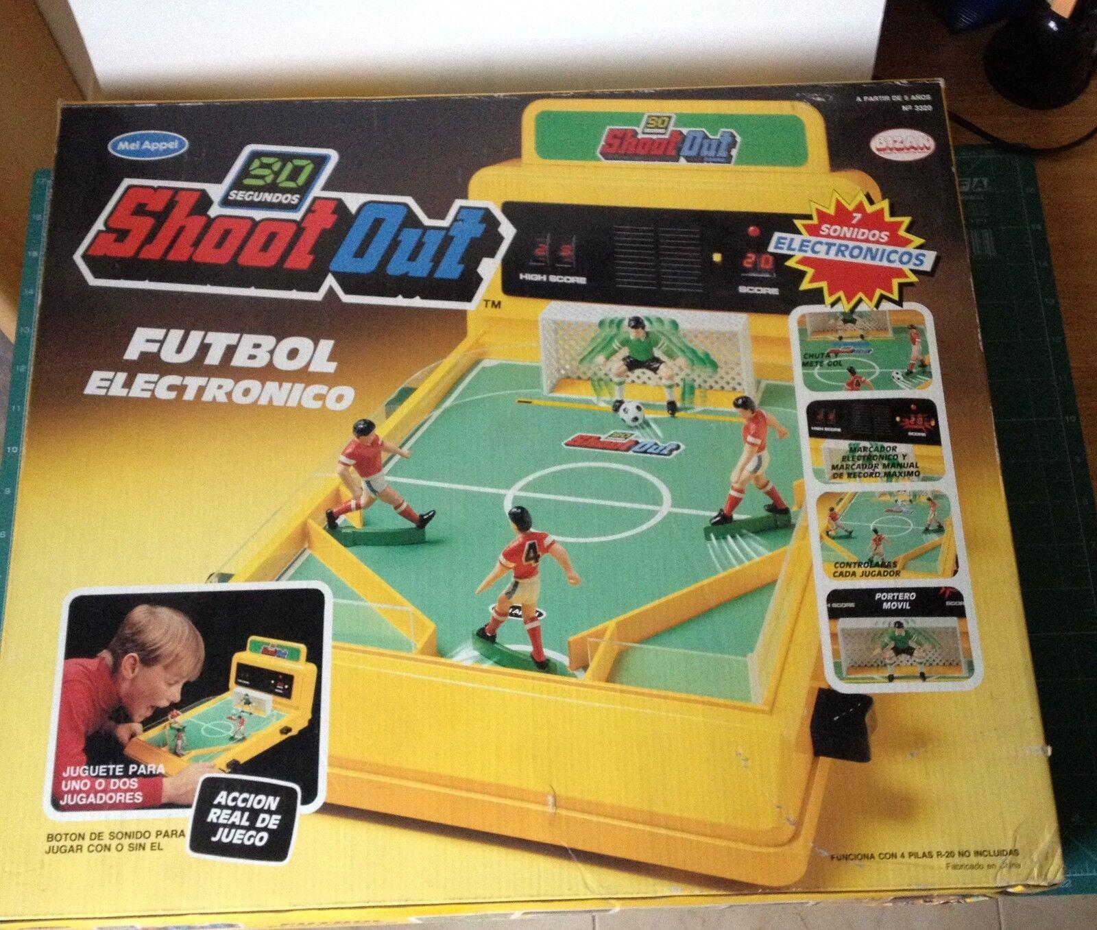 SHOOT OUT FUTBOL ELECTRONICO BIZAK AÑOS 80 VER FOTO