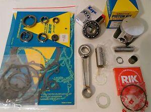 Suzuki RM85 2002 on Engine Rebuild Kit Con Rod Mains Piston Gaskets Seals RM 85