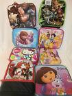 School Lunch Box Bag Tote - Boys & Girls - You Choose - Disney Thermos Superman