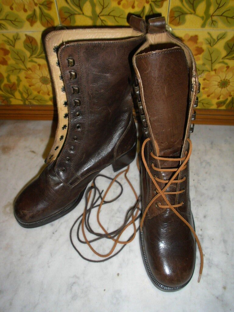 BRAND NEU DESIGNER BOOTS, EU 35/UK 2, GINO CAPPELLETTI, ITALIAN LEATHER