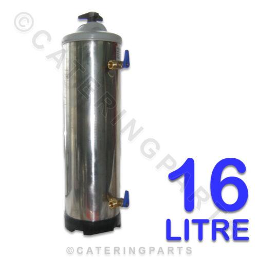 16L LT 16 LITRE MANUAL WATER FILTER SALT SOFTENER CLASSEQ DISHWASHER GLASSWASHER